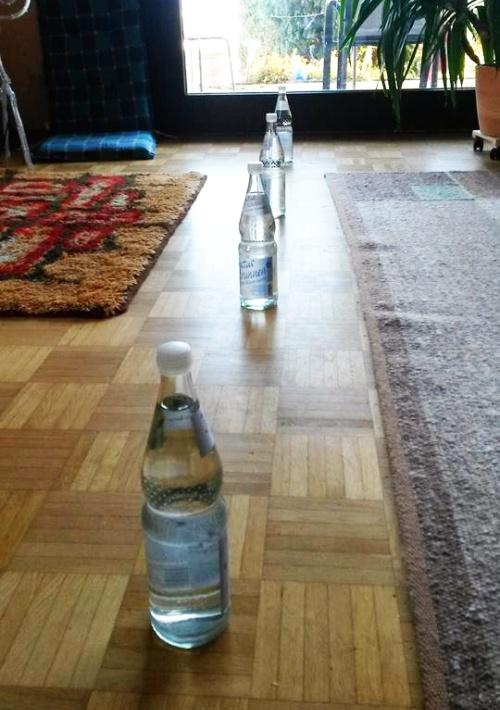 Flaschenslalom